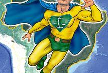 Nosso super herói. / O SUPER MORO nos protegendo dos petralhas.