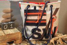 Mills Design / Unieke handgemaakte producten gemaakt van gebruikte zeilen.