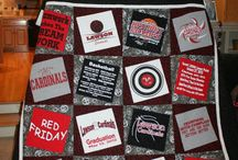 tshirt quilts / by Shanna Peace