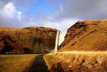 Waterfalls of Iceland / Feel the powerful vigor of beautiful Icelandic waterfalls.