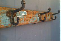 Hooks / Percheros/colgadores vintage
