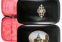 Antique Cigar and Tobacciana, Box, Case, Humidor