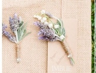 Ella & Christopher / January 2014 soft lavenders, sages and silvery-greys with pale coffee