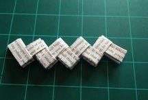 origame (dobradura de papel)