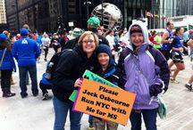 Marathons / 2014 for MS / by Lori Gregorski