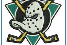 National Hockey League Team Logos Machine Embroidery Designs