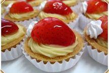 tortas (doces e salgadas)