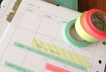 Washi Tape Madness / All the different uses for Washi Tape. Inspiration and projects.