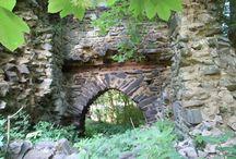 Ruins of Czech castles