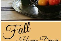 All Things Home Fall Home