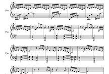 hudba - noty standa