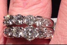 Diamonds....a woman's best friend  / by M Lowe
