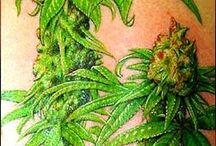 Ganja tattoo