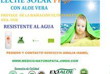 SALUD INFANTIL / PRODUCTOS NATURALES PARA LA SALUD E HIGIENE INFANTIL, CON ALOE VERA.