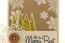 Cardmaking - Vánoce