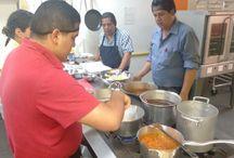 Taller de Tacos de Canasta / Preparando un platillo muy típico de México