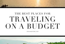Travel | On a Budget / This board is full of tips, ideas, and famous hacks for being able to afford to travel. It's expensive to travel, save some money by exploring some of these great articles and posts.