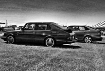 My actual Saabs - By Paul Campagna / These are my Saabs over the years. I'm sure it's in the 20's range since I didn't alway take photos of each car. Still lots and lots of Saabs