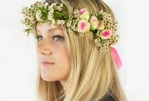 Flower Crowns by Miss Daisy / Fresh Flower Crowns daily! For more information visit our website at Missdaisyflowers.com ~ Instagram @Missdaisyfloral~ or call us at 702.222.0080