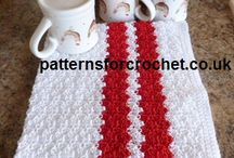 crochet towels and dishclothes