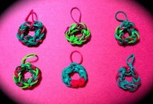 Craftiness: Rubber Band Looming Charms, etc