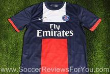 2013-14 Soccer Jerseys