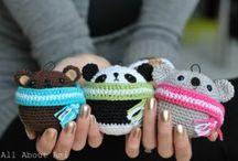 Crochet, sew, felt