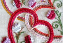 Embroidery and other needle/thread crafts