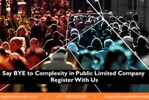 Public Limited Comapny / Now get full-fldged help on the formation of public limited comapny by registrationwala.