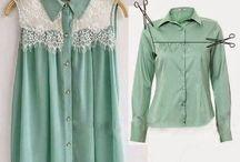 DIY przeróbki ubrań