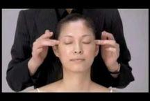 Gesichtsmasage