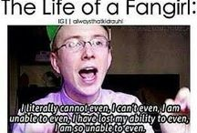 me being a fangirl