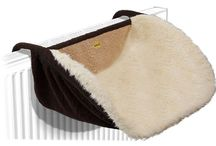 Radiator Beds / Luxurious radiator beds for cats.