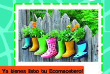 Ecomacetero de botas de agua