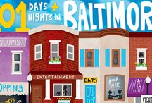 101 Days & Nights in Baltimore / 101 of the things that make Baltimore, well, Baltimore.