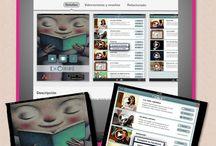 PL_Móvil: Apps lectoras  / Apps para leer desde dispositivos móviles, o libros interactivos en formato app para nuestras tablets y móviles