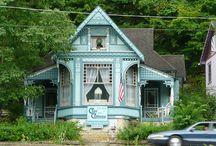 Eureka Springs Victorian Architecture