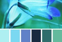 カラーチャート BLUE