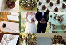 Decoración de bodas con piñas / Sal de lo ordinario, atrévete a probar diferentes decoraciones