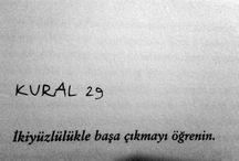 KURALLAR