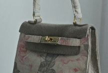 LE FELTRONELLE handbag vintage style handmade