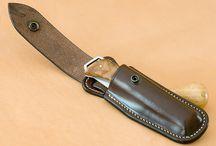 knife leather sheath 1