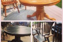 My RePurpose Projects / These are some furniture projects we have taken on. I love to take old things that people count as junk and make them new again!