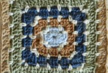 Crochet >> Granny Squares / by Bernadette Kay Post Nierman