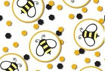"""What will it Bee? Gender Reveal Party Ideas / What will it Bee? Gender Reveal Party Ideas with a cute bee theme. Will it """"Bee"""" a boy or girl? We have added our favorite products along with some great ideas from other Pinterest members to help you creat the best """"What will it Bee?"""" Gender Reveal Party ever!"""