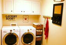 laundry room / by Wendy Kenyon Thomson