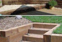 záhradné schody