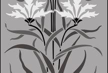 вышивка_растительный мотив