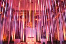 Wedding Curtains/Dividers / www.lushfloraldesgnpdx.com Serving Portland, Oregon and Vancouver, Washington. Wedding and Event floral design. Wedding bouquets, centerpieces, ceremony floral, Cake floral, Boutonnieres', Altar floral, corsages, aisle petals. Contact us at www.lushfloraldesignpdx.com