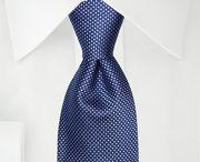 Cravates à deux tons